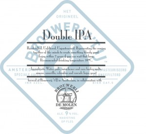 Brouwerij 't IJ en brouwerij de Molen DIPA