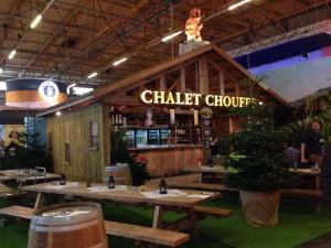 Chalet van La CHouffe op Horeca Expo 2014