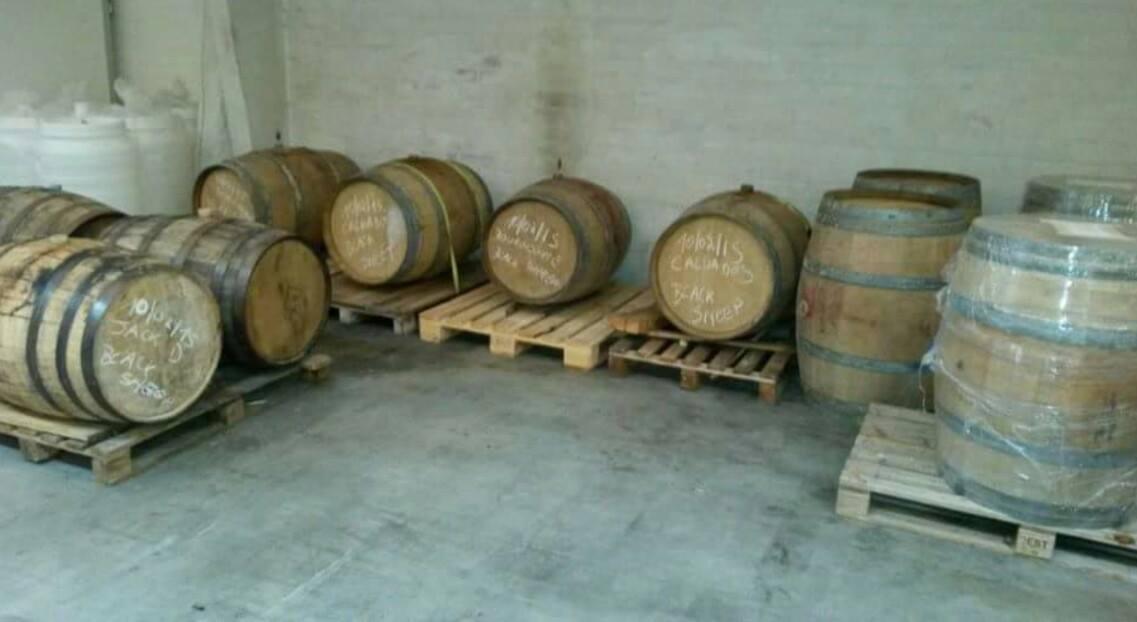 Barrels gaverhopke