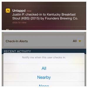 Update voor Untappd