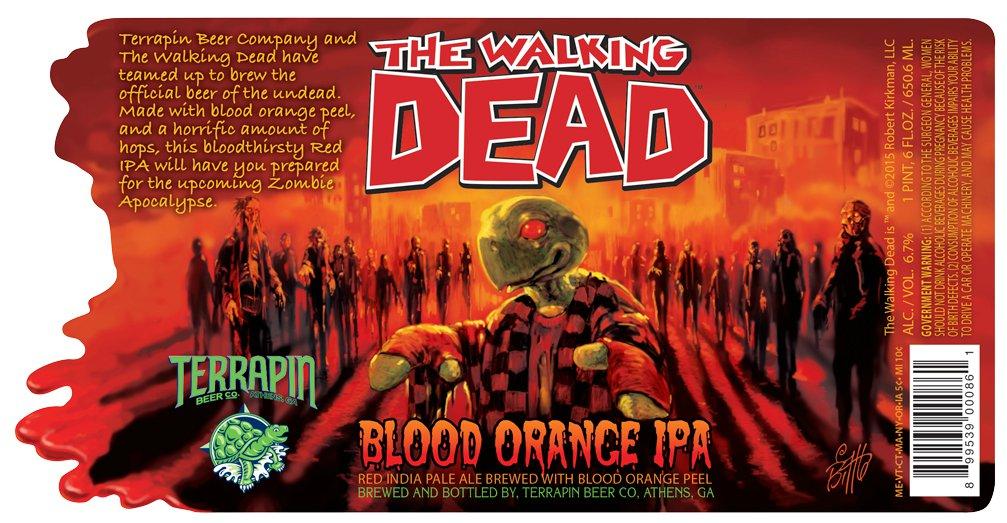 The Walking Dead bier